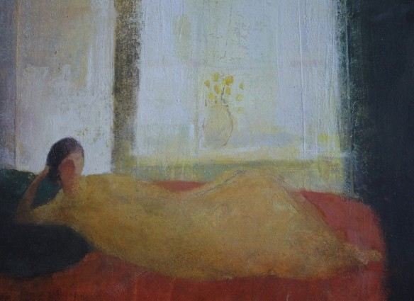 Blue Pillow David Brayne