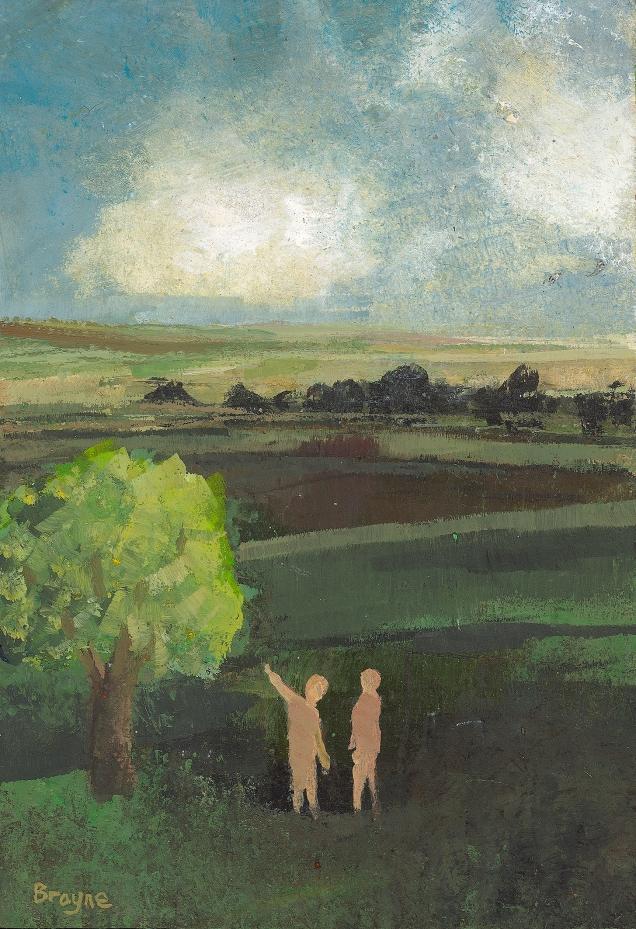 Adam and Eve 21 x 14 cm