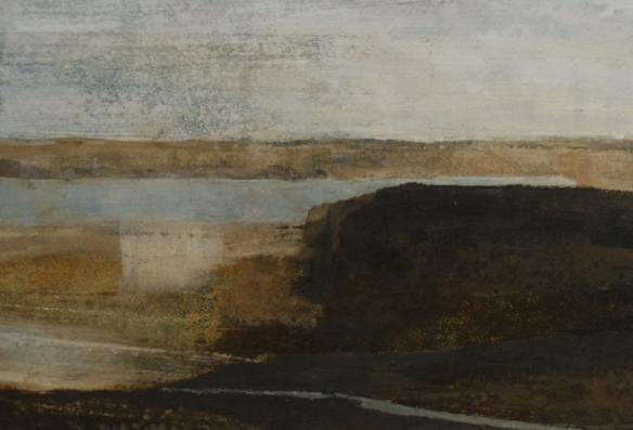 coast path 25 x 38 cm